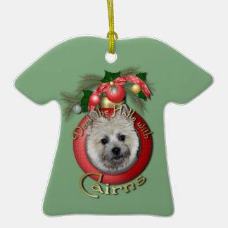 Navidad - cubierta los pasillos - mojones - oso de ornamento para arbol de navidad