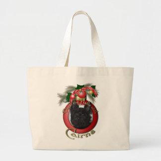 Navidad - cubierta los pasillos - mojones - Rosco Bolsas De Mano