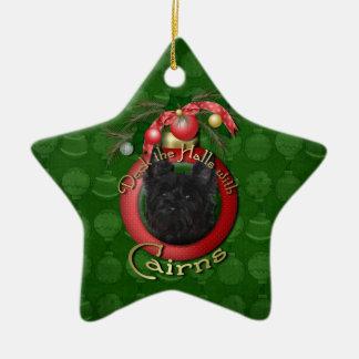 Navidad - cubierta los pasillos - mojones - Rosco Adorno De Cerámica En Forma De Estrella