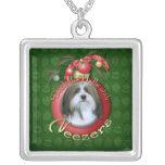 Navidad - cubierta los pasillos - Neezers Collar Personalizado