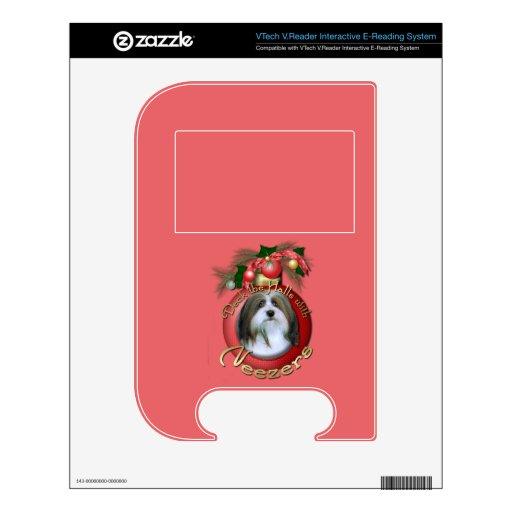 Navidad - cubierta los pasillos - Neezers VTech V.Reader Skin