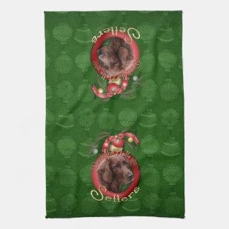 Navidad - cubierta los pasillos - organismos toalla de mano