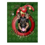 Navidad - cubierta los pasillos - pastores - Kuno Postales