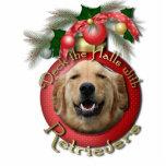 Navidad - cubierta los pasillos - perros perdiguer escultura fotografica