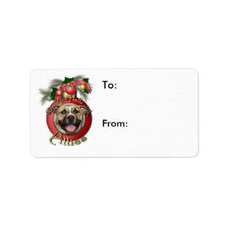Navidad - cubierta los pasillos - Pitties - Tigger Etiquetas De Dirección
