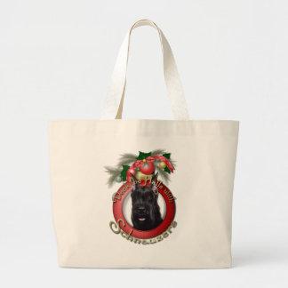 Navidad - cubierta los pasillos - Schnauzer Bolsas