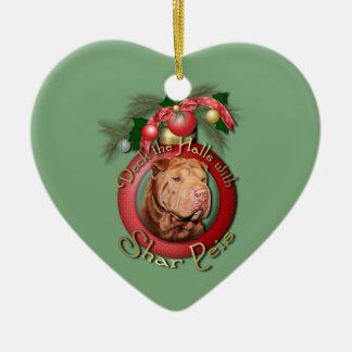Navidad - cubierta los pasillos - Shar Peis - afor