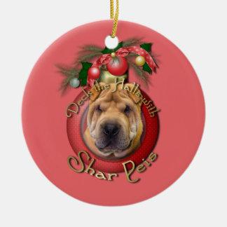 Navidad - cubierta los pasillos - Shar Peis