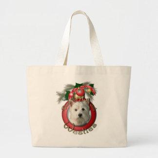 Navidad - cubierta los pasillos - Westies Bolsas