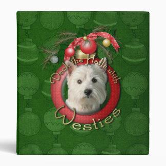 Navidad - cubierta los pasillos - Westies