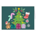 Navidad Cuties Tarjetas