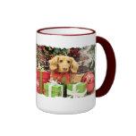 Navidad - Dachshund - BO Tazas De Café