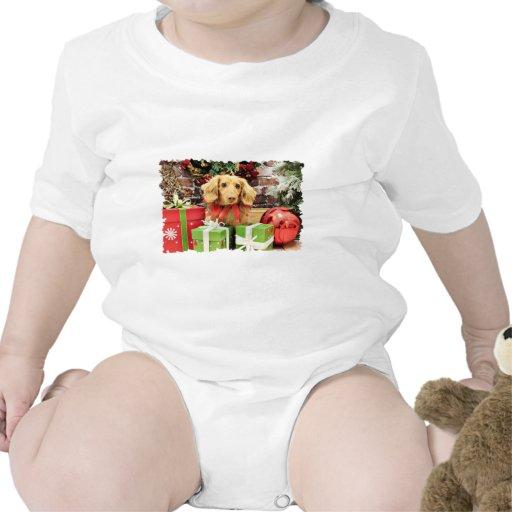 Navidad - Dachshund - BO Trajes De Bebé