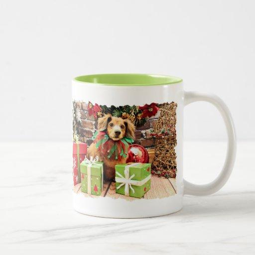 Navidad - Dachshund - Heidi Taza De Café