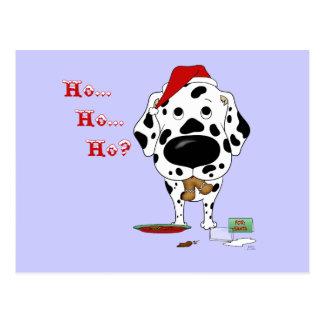 Navidad dálmata postales