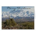 Navidad de Arizona Felicitación