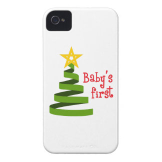 NAVIDAD DE BABYS PRIMER iPhone 4 Case-Mate FUNDA