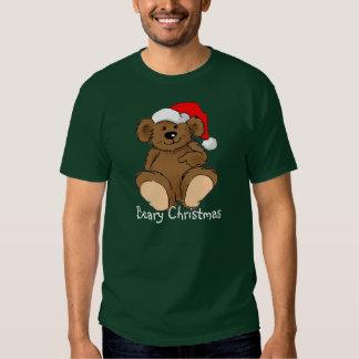 Navidad de Beary Playeras