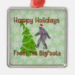 Navidad de Bigfoot Ornamente De Reyes