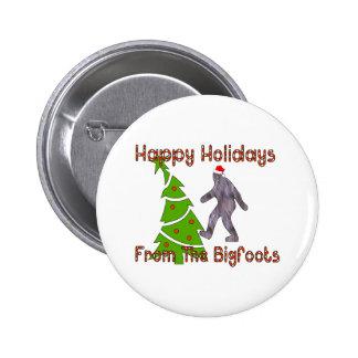 Navidad de Bigfoot Pin