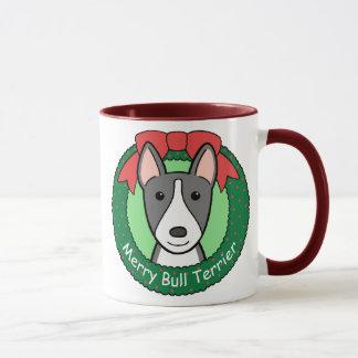 Navidad de bull terrier
