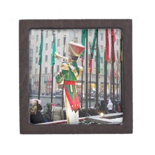 Navidad de centro de Rockefeller Cajas De Regalo De Calidad