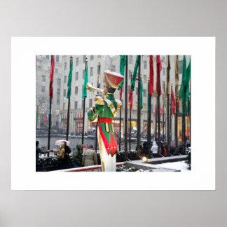 Navidad de centro de Rockefeller Impresiones