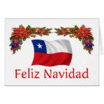 Navidad de Chile Tarjeta De Felicitación