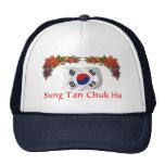 Navidad de Corea Gorras De Camionero
