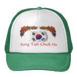Navidad de Corea Gorro De Camionero