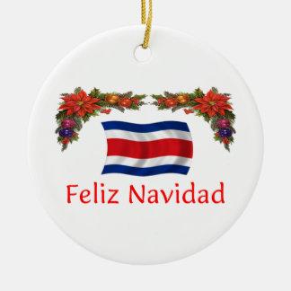 Navidad de Costa Rica Ornamento Para Arbol De Navidad