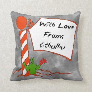 Navidad de Cthulhu Cojin