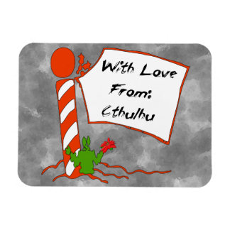 Navidad de Cthulhu Imanes De Vinilo