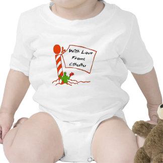 Navidad de Cthulhu Traje De Bebé