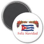 Navidad de Cuba Imán De Frigorifico