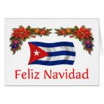 Navidad de Cuba Tarjeta De Felicitación