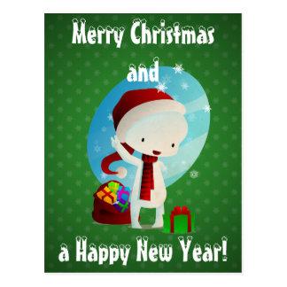 Navidad de Deville Postales