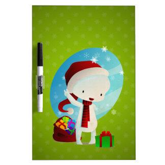 Navidad de Deville Tablero Blanco