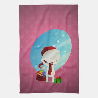Navidad de Deville Toalla De Cocina
