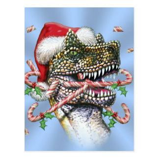 Navidad de Dino Postal