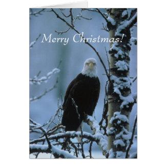 ¡Navidad de Eagle! Tarjeta De Felicitación