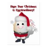 Navidad de Eggstrordinary Postal