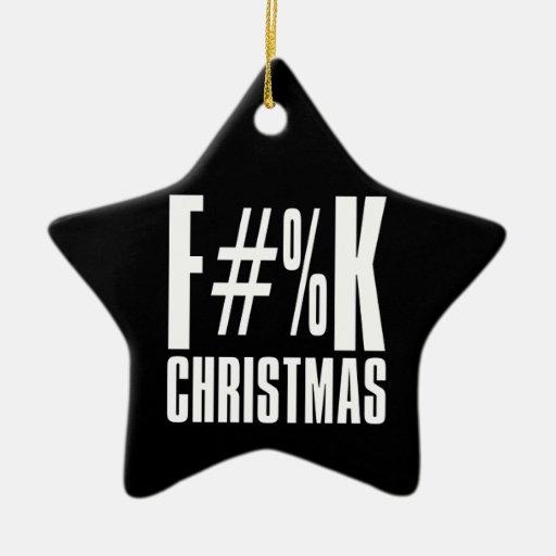 Navidad de F y F que usted adorna también Adorno Navideño De Cerámica En Forma De Estrella