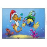 Navidad de FriendFish Tarjetas