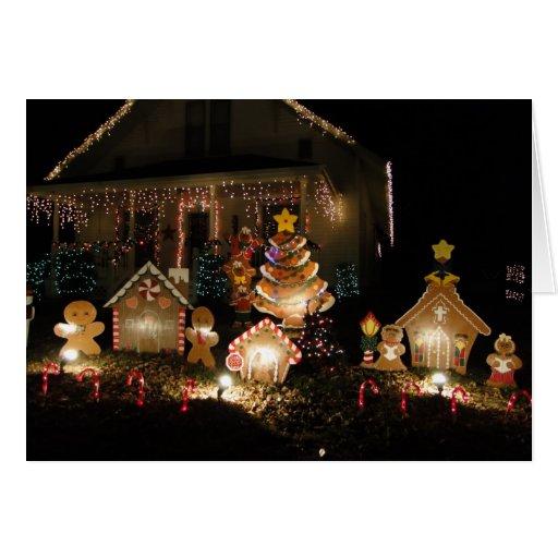 Navidad de Gingerbreadmen Tarjetas