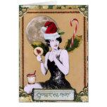 Navidad de hadas tarjetas
