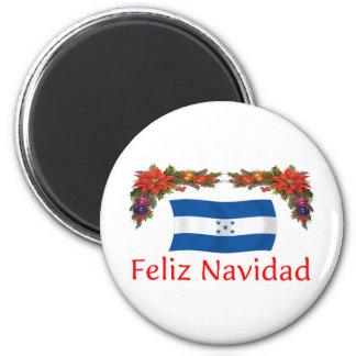 Navidad de Honduras Imán Redondo 5 Cm