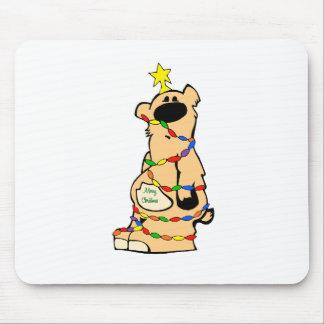 Navidad de Honeybear Alfombrilla De Ratón