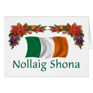 Navidad de Irlanda Tarjeta De Felicitación