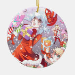 Navidad de Kawaii Adorno Para Reyes